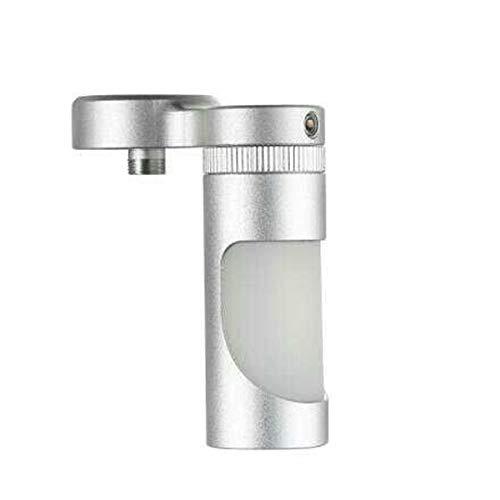 Aleader Liquid Feeder, Sqounk Flasche und Adapter für Tube Mods (Farbe: Silber) - Mini Tube Feeder