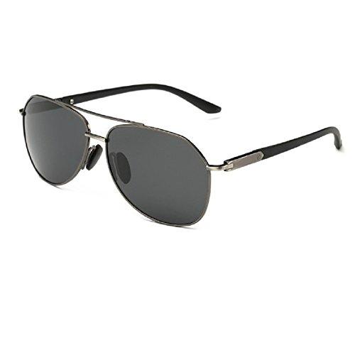 O-C Herren Sonnenbrille Grau Grau