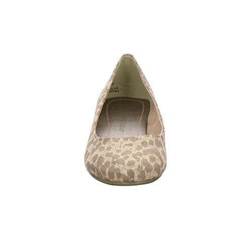 Marco Tozzi Damen 22100 Geschlossene Ballerinas Leopard