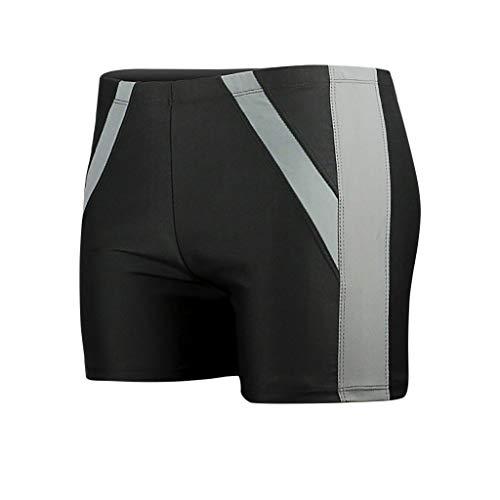 KPPONG Shorts de Bain Homme Grande Taille Boxer Séchage Rapide Mode Short de Plage, Soldes Confortable Maillot de Bain pour Plage/Sport/Natation/Plongée