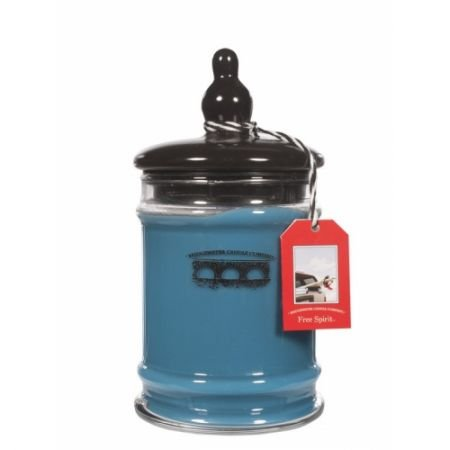 Bridgewater Duftkerze im Glas, 240 ml, Blau
