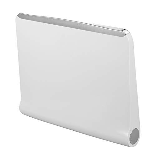Hellery Wandmontage Duschklappsitz Duschsitz Badsitz Duschhocker für Schwangerschaft oder Alte, Größe: ca. 36 x 29,8 x 6 cm -