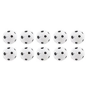 Veroda Pack of 10pcs 1:12 Scale Football Soccer Balls Dolls House Miniature Accessories