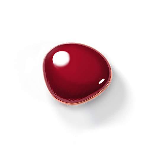 USB-Lade-Handwärmer Sea Shell Shell-Form tragbare Mini-wiederaufladbare Kosmetikspiegel-Handwärmer 4000mh Mobile Power, Red