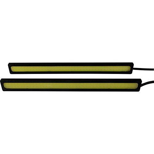 Autostyle BLDRLL1 Trade Cob LED Tagfahrlicht/innen Lighttube Auto, selbstklebend, 2 x 17 cm, 2 Stück