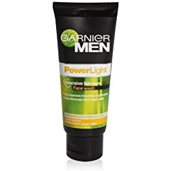 Garnier Men Power Light/White Face Wash, 100g