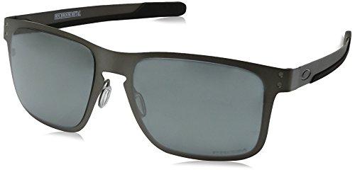 Oakley Herren 0OO4123 Sonnenbrille, Weiß (Matte Gunmetal), 55