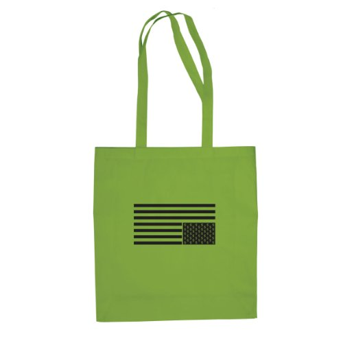 Card House Dollar Flag - Stofftasche / Beutel Hellgrün
