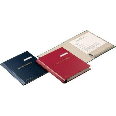 Fraschini Dokument Ordner 601-Ordner (blau, Kunstleder, 340x 240mm)