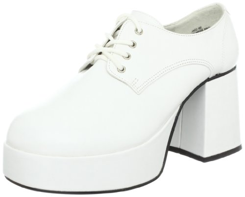 PleaserJazz02/b - Brogue uomo Wht Pu