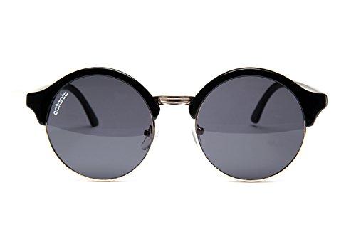Catania occhiali sole - nuova collezione - uv400 - occhiali da sole tondi - collezione donna (con custodia)