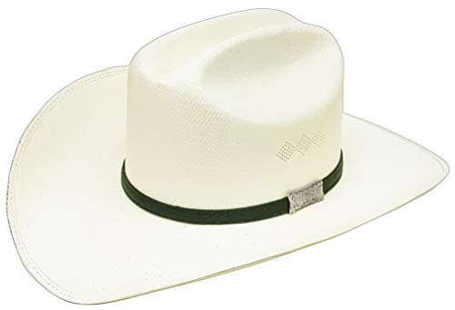 6d2c0a3ad Modestone Unisex Concho Hatband Bangora Straw Chapeaux Cowboy 57 Off-White