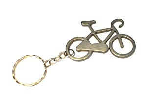 Bike Keyring / Keychain Grey