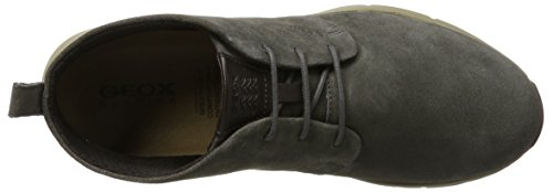 Geox Herren U Snapish B Hohe Sneaker Braun (Mud/Coffee)