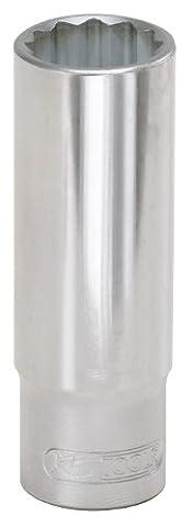 KS Tools 917.1271 Bi Hex Socket, Deep, 1/2-Inch, 22mm