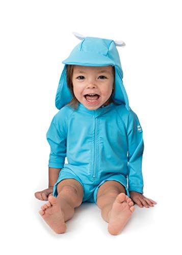 Sunzies Baby Bear Rashguard Sunsuit Blue 6-12m