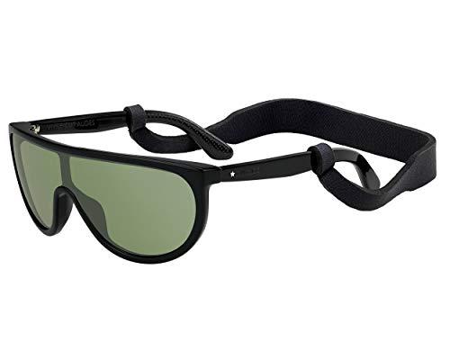 Jimmy Choo Sonnenbrillen (HUGO-S 807EL) schwarz glänzend - grün