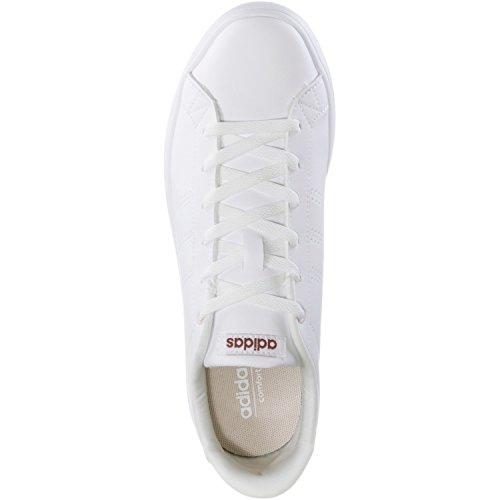 F17 Qt ftwr Tênis Adidas Cl Ftwr Mistério Branco W Rubi Multicores Senhoras Vantagem Branco pCwqTO