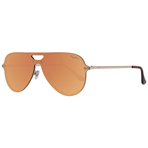 Pepe Jeans Unisex-Erwachsene PJ5132C2143 Sonnenbrille, Gold, 143