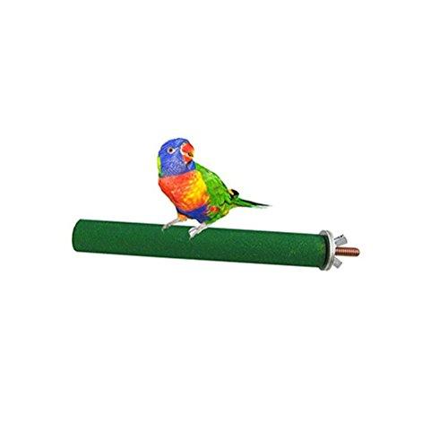 UEETEK Posatoio per Uccelli Giocattolo di pappagalli Giocattolo dell'uccello del gabbia