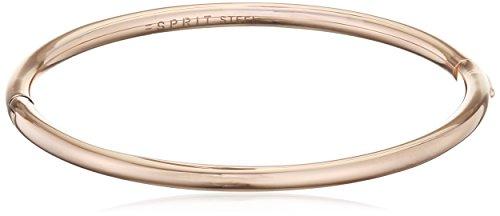 Esprit Fashion Damen-Armreif ES-CHIC ROSE Edelstahl 21 cm - ESBA11258C600