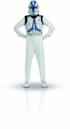 Rubie's 5261-Kostüm-Kostüm-Kit Clone Troopers-Größe 8-10Jahre (Clone Trooper Kostüm Jungen)
