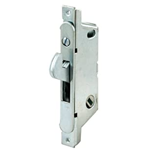 Prime-Line Products 152505 Mortise Lock, Auto Latch, Round Face, Steel, Adams Rite