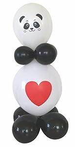 Karaloon 30075 Funny Panda - Juego de Globos