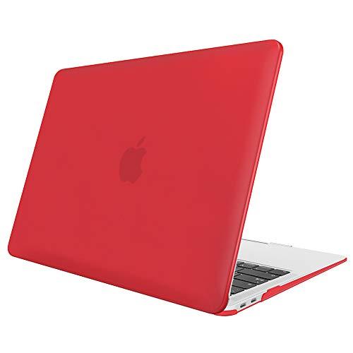 Fintie Hülle für MacBook Air 13 (2018 Freisetzung) A1932 - Ultradünne Matt Gummierte Hartschale Schutzhülle Snap Case für Apple MacBook Air 13