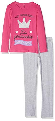 Lina Pink EF.Lund.li Camicia da Notte Bambina