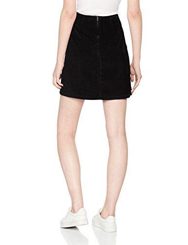 New Look Damen Rock Pocket Cord Schwarz