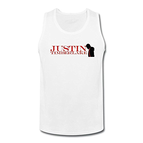 Herren's Justin Timberlake O Neck DIY Tank Top T Medium