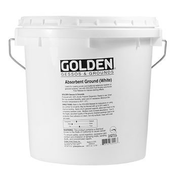 DS - Golden - GAC G&G 3,78l Absorbent Ground White - 5003555-8 -