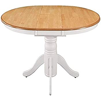 Extending Dining Table Large Round Oval Kitchen Furniture Shabby
