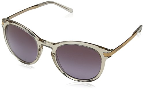 Michael Kors Damen ADRIANNA III 33038H 53 Sonnenbrille, Nude Transparent/Violetgradient,