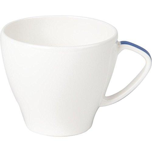 Royale de porcelaine de Maxadura Bord Bleu Handled Capacité Cup: 7 oz / 200ml. Quantité, boite: 12.
