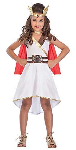 (Fancy Me Mädchen Teen Göttin Prinzessin Römisch Griechisch Superheld Welttag des Buches-Tage-Woche Kostüm Kleid Outfit 5-14 Jahre - 8-10 years)
