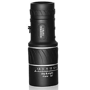 LY Bushnell 16x52 haute définition vision nocturne noir extérieur monoculaire télescope