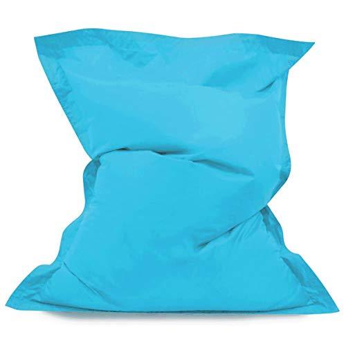 IVENIWS No Filler Sitzsack Sofa Chair Bag Sitzsack Bettdecke Wasserdichter Indoor-Sitzsack Lounge Chair Blue -