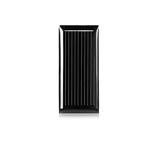 ZhengFei Mini-Polykristallines Silizium-Solarzelle mit 0,5 V 185 mA, 48 x 21 mm - SCHWARZ LDTR-WG0069 / G Sonstiges Zubehör