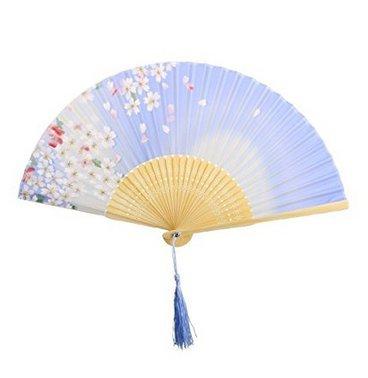 ßhandel Seide Lady Faltfächer Japanische Kirschblüte Bambus Fan * 1 ()