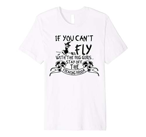 Stay Off The Freaking Besen–Funny Hexe Halloween T -
