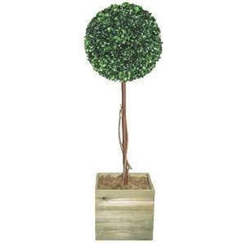 2 x Artificial 91,44 cm bola de árbol de jardín para exteriores en el interior o en