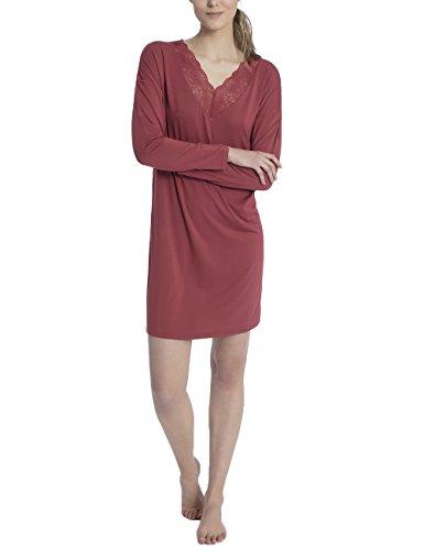 Calida Damen Jaina Einteiliger Schlafanzug, Rot (Burnt Russet 118), XX-Small