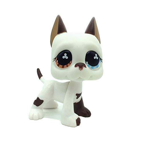 Whit Dog Pet Shop Juguetes LPS Raras de pie Forma máscara...