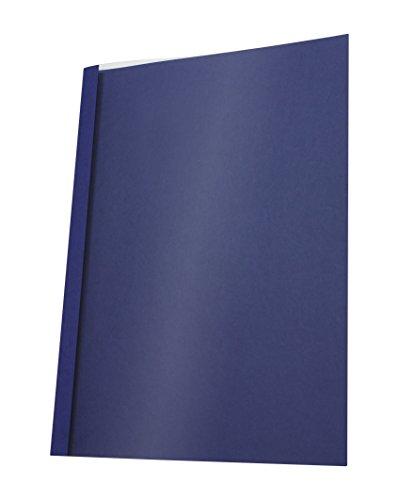 Pavo Thermo-bindemappen A4, Rückenbreite 1.5 mm, 25-er Pack, 1-10 Blatt, blau -