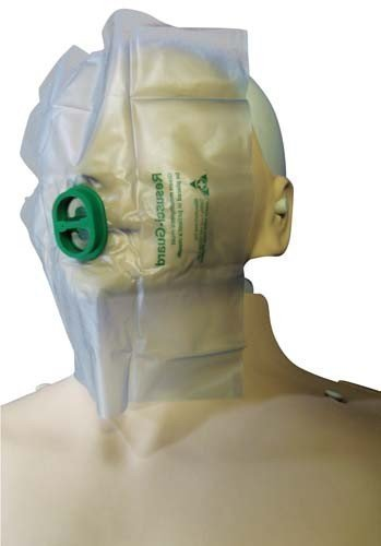 Preisvergleich Produktbild Life-Aid Gesicht Schutz Plastik Erste Hilfe Reanimation Maske mit Rückschlagventil