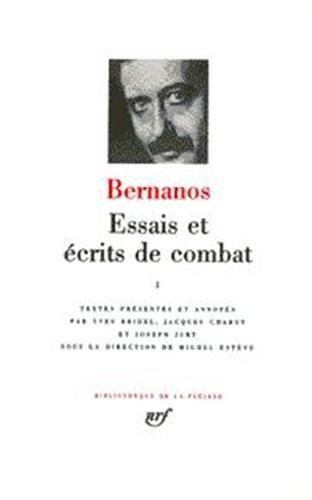 Bernanos : Essais et écrits de combat, tome 2 par Georges Bernanos