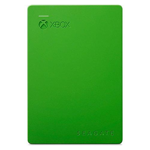 Seagate Game Drive For Xbox Portable 4TB 4000GB Black,Green external hard drive - external hard drives (4000 GB, USB powered, Black, Green)