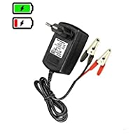 Ankirun™ 12V Lead Acid VRLA SMF Suitable to Charge Batteries from 7 to 14AH Battery Charger (12V 1Amp)